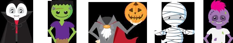 halloween smencils